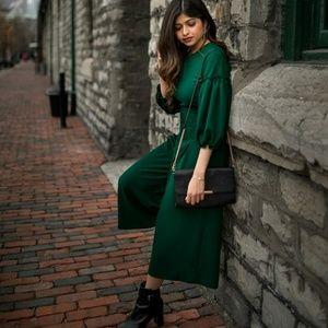 Zara Jumpsuit with Voluminous Sleeves